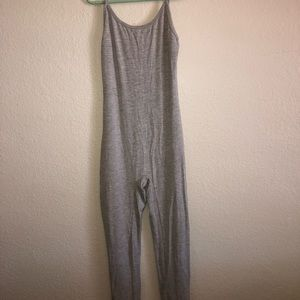Grey Fashion Nova JumpSuit